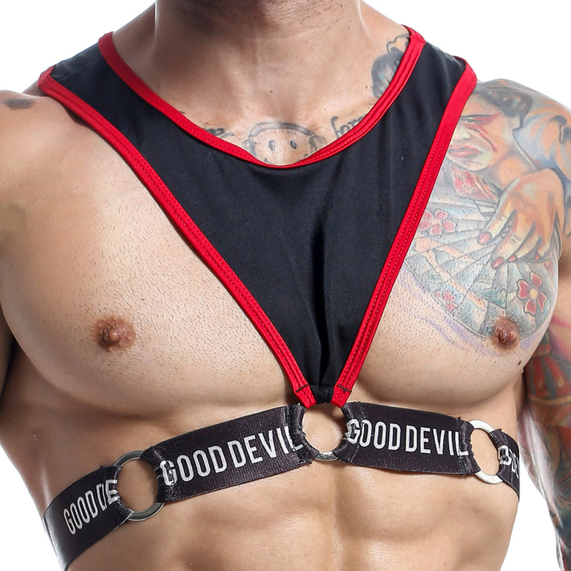 Good Devil GD1007  Padded Cock Ring