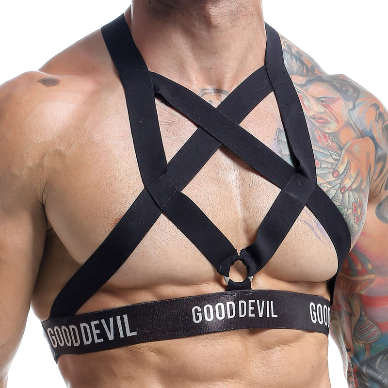 Good Devil GD1004  Strung Up Cock Ring