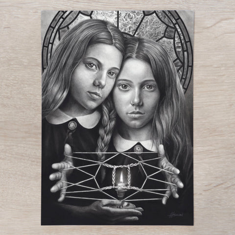 'Gemini' A5 art card