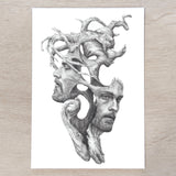 'Janus' A5 art card