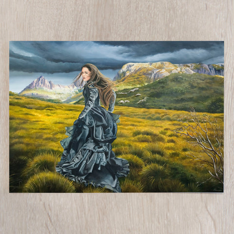 'Wilderness of the Heart' A5 art card