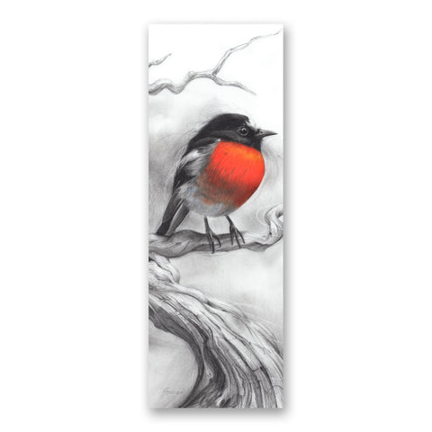 'Scarlet Robin' bookmark