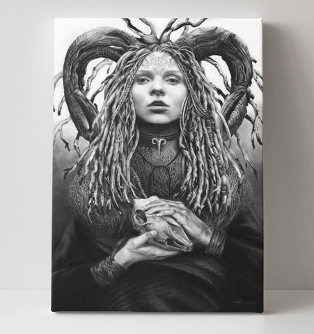 'Aries' canvas print