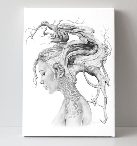 'Contemplation' canvas print