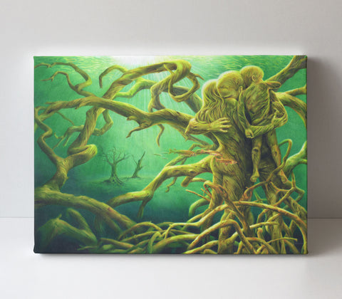 'Forest of the Dammed' canvas print