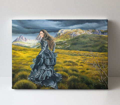 'Wilderness of the Heart' canvas print