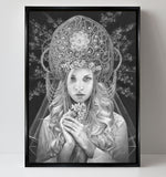 'Virgo' canvas print