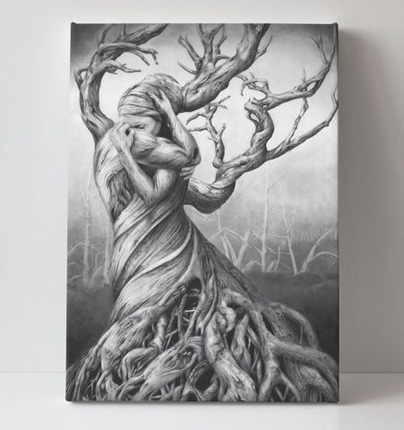 'One Tree' canvas print