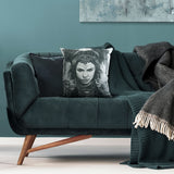 Cushion cover featuring 'Taurus' Zodiac artwork