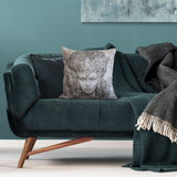 Cushion cover featuring 'Christmas Angel' artwork
