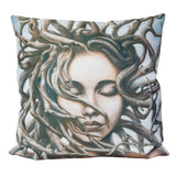Cushion cover featuring 'Gaia' artwork