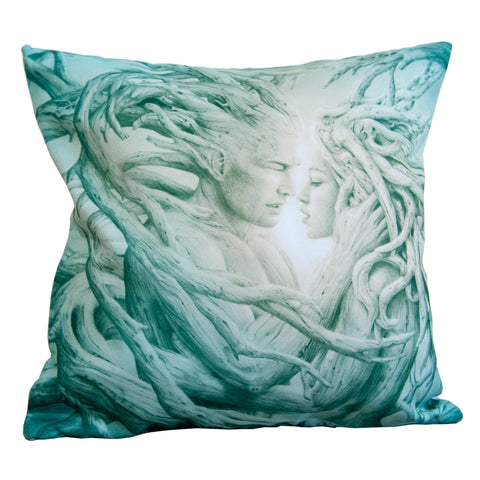 Cushion cover featuring 'Until the Last' artwork