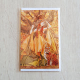'Autumn Fairy' greeting card