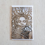 'Gaia' greeting card