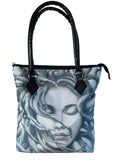 Handbag featuring 'Gaia' artwork