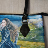 Handbag featuring 'Wilderness of the Heart' artwork