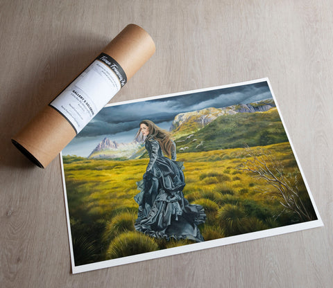 'Wilderness of the Heart' art print