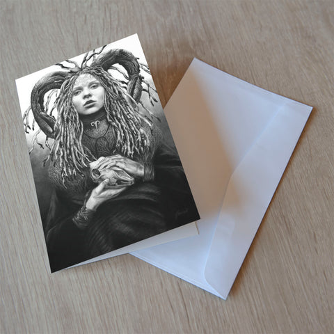 'Aries' greeting card