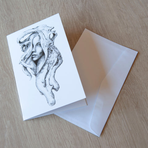 'Driftwood Souls 1' greeting card
