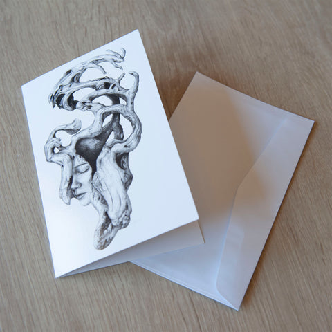 'Driftwood Souls 2' greeting card