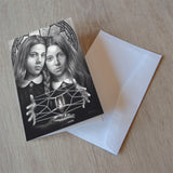 'Gemini' greeting card
