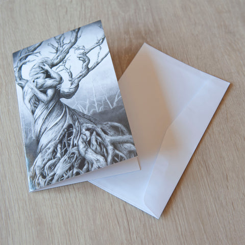 'One Tree' greeting card