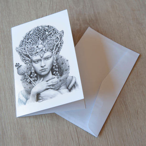 'Christmas Angel' greeting card