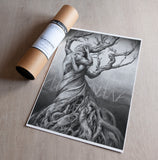 'One Tree' art print