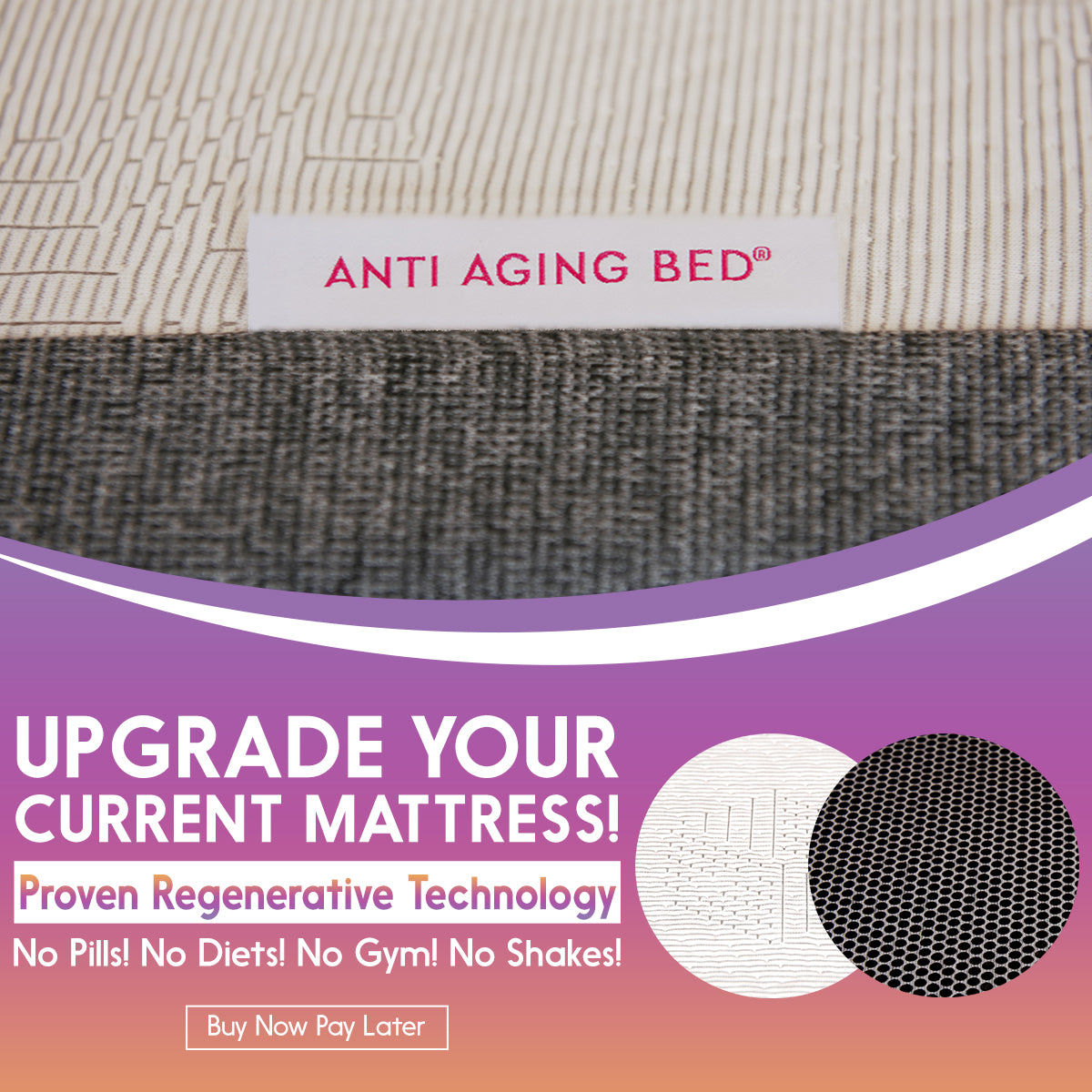 Proven EMF 5G Blocking & Shielding Mattress From Anti Aging Bed