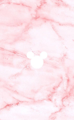 pink marble disney phone background