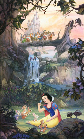 Snow white and the seven dwarfs Disney phone background