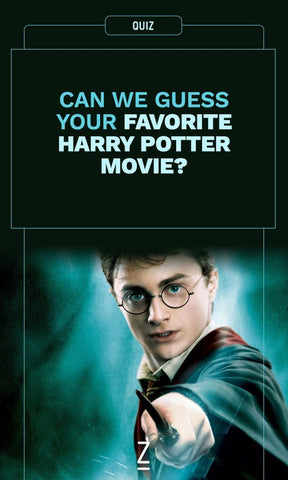 Can we guess your favourite Harry Potter movie? harry potter quiz
