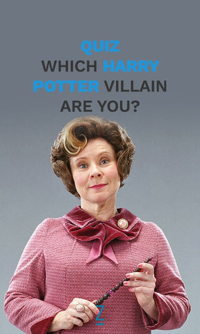Which Harry potter villain are you? Harry potter quiz