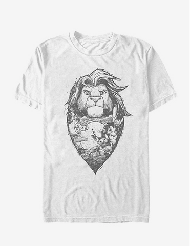 Lion king womens tee Hot Topic