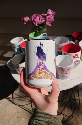 Disney drawing mug
