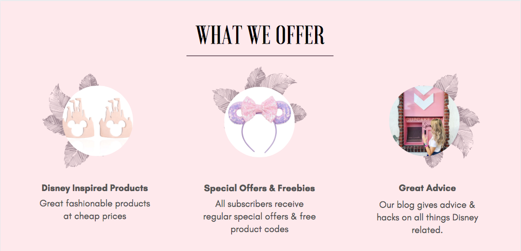 Disney voguette site offer