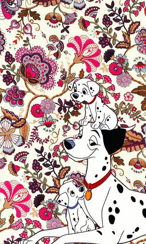 101 dalmation pattern phone background