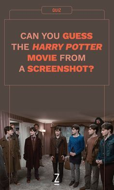 Can you guess the Harry potter movie from a screenshot? harry potter quiz