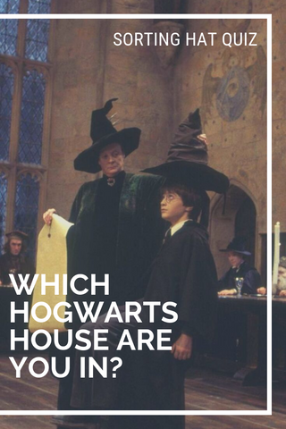 Sorting hat quiz. What hogwarts house are you in? Harry potter quiz