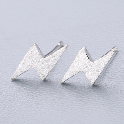 Lightening Bolt Stud earrings Sterling silver - Disney Voguette