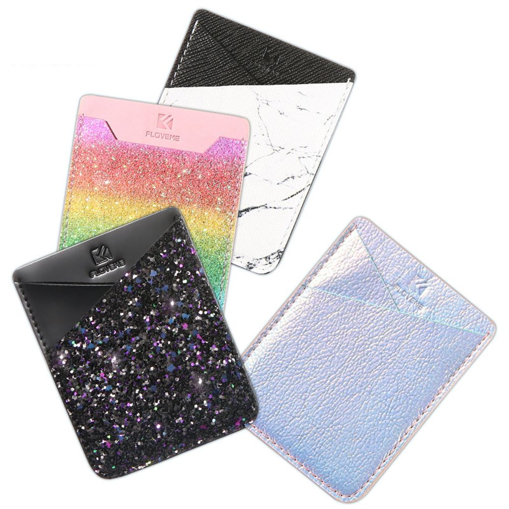Fashion Sticker Back Cover Card Holder Case Pouch For Cell Phone - Disney Voguette