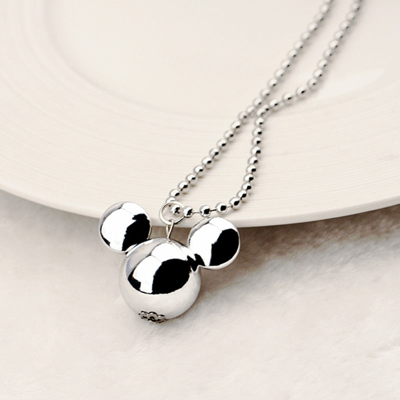 Mickey Mouse inspired pendant Chain Necklace - Disney Voguette