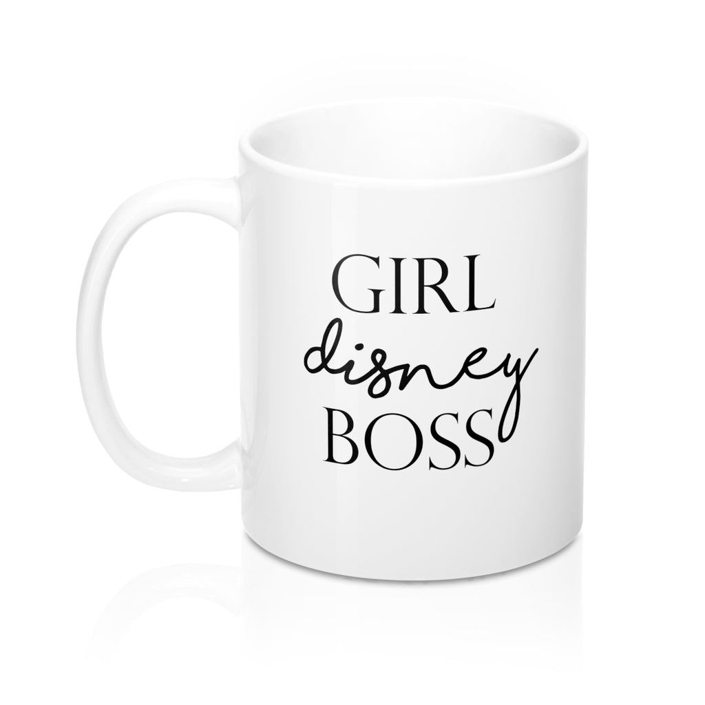 Girl Boss Disney lover mug - Disney Voguette
