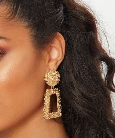 Fashion Earrings Gold perfect for Jasmine look - Disney Voguette