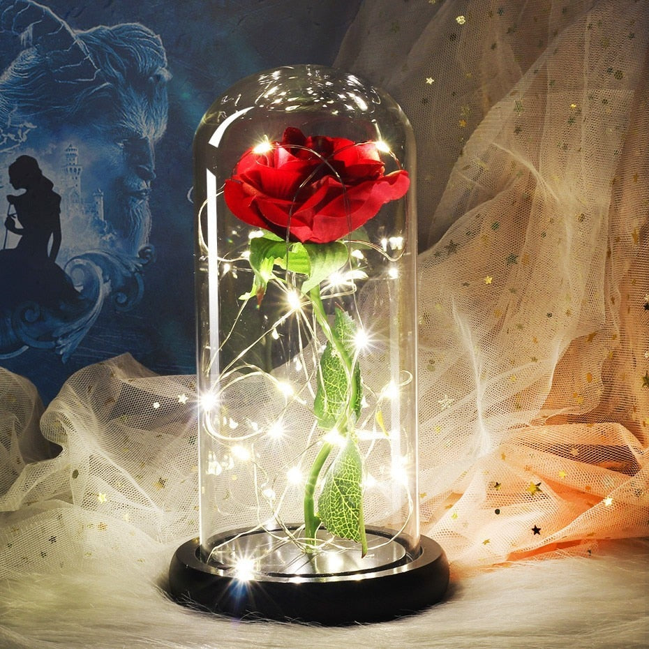 Beauty And Beast Inspired Enchanted Forever Rose Lights In Glass Dome Disney Voguette,Joanna Gaines Shiplap Bedroom