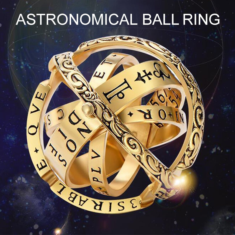 Puzzle Astronomical Sphere Ball Universe Rotating Ring - Disney Voguette