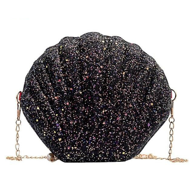 Mermaid Glitter Sequins Small Shell Bag - Disney Voguette