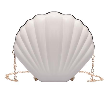 Fashion Shell Bag Chain Shoulder Handbag Mermaid - Disney Voguette
