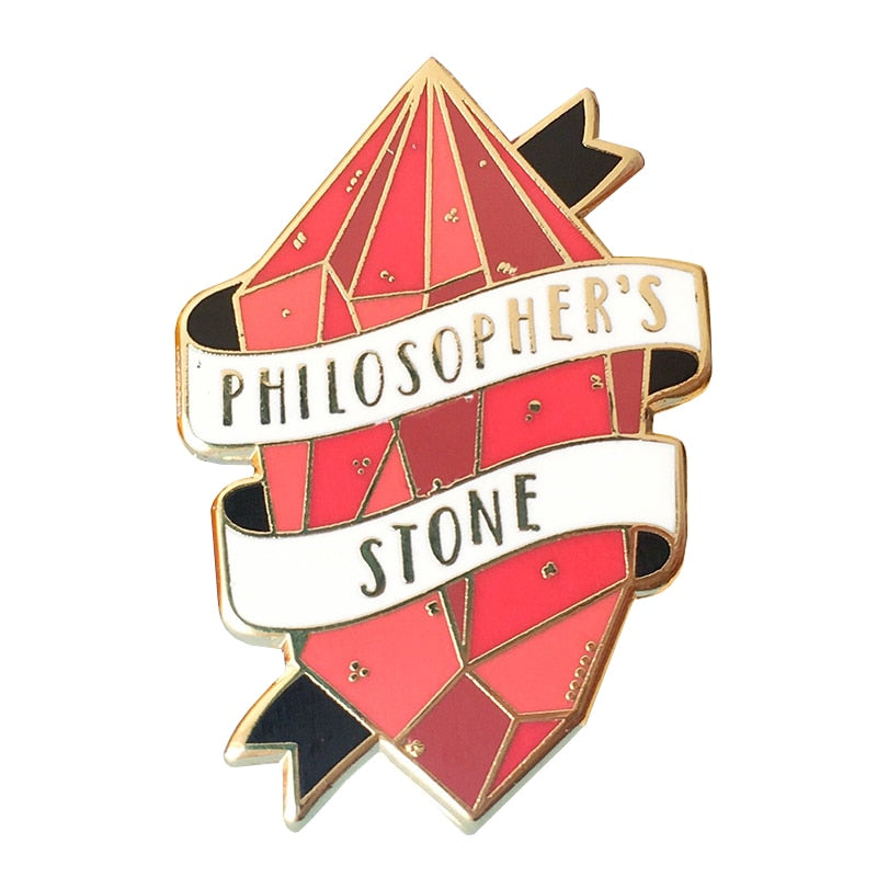 Philosopher's stone pin badge - Disney Voguette