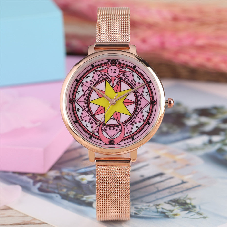 Sailor Moon inspired Women's Watch Rose Gold - Disney Voguette